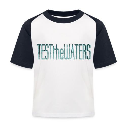 TESTtheWATERS BETA BLUE - Kids' Baseball T-Shirt