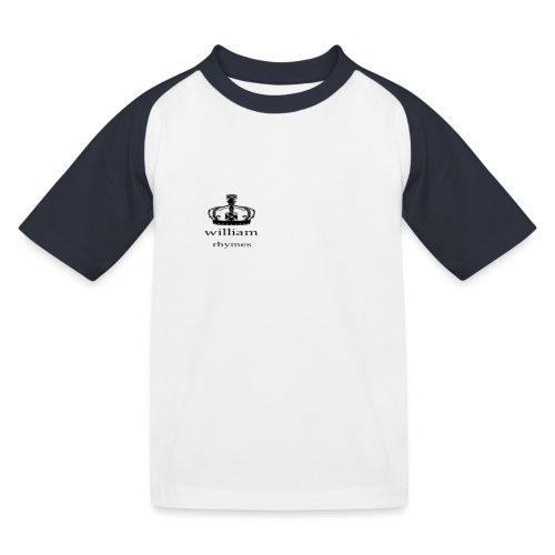 william - Kids' Baseball T-Shirt