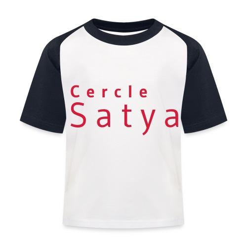 Cercle Satya - T-shirt baseball Enfant