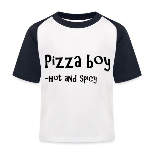 Pizza boy - Baseball-T-skjorte for barn