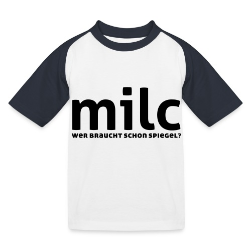 milc - Kinder Baseball T-Shirt