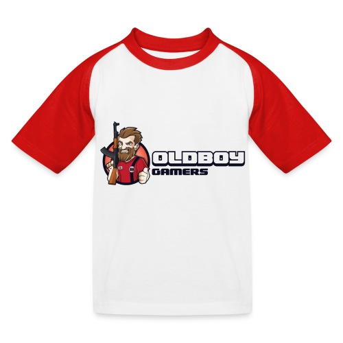 Oldboy Gamers Fanshirt - Baseball-T-skjorte for barn