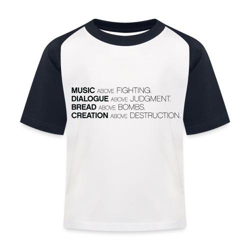 slogan png - Kinderen baseball T-shirt