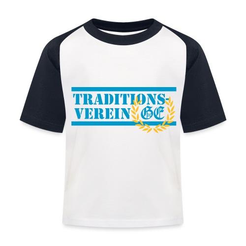 Traditionsverein - Kinder Baseball T-Shirt