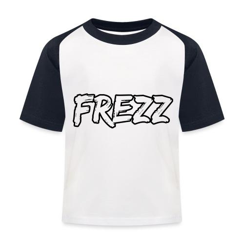 T Shirt FREZZ Noir&Blanc Classique (NOIR) - T-shirt baseball Enfant