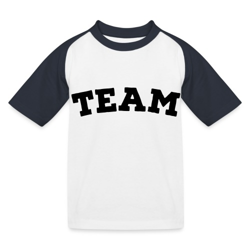 Team - Kids' Baseball T-Shirt