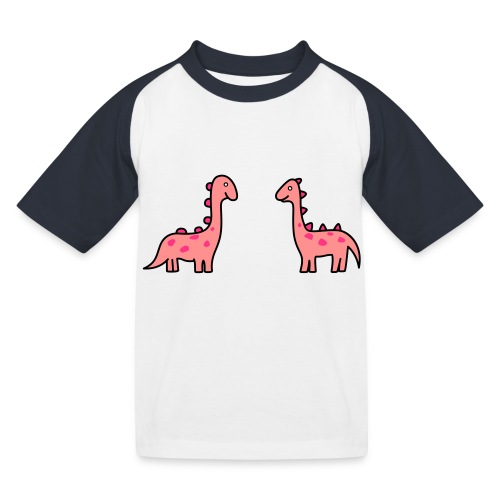 Mochila de Dinosaurios - Camiseta béisbol niño