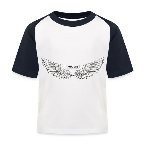 T SHIRT logo wit png png - Kinderen baseball T-shirt