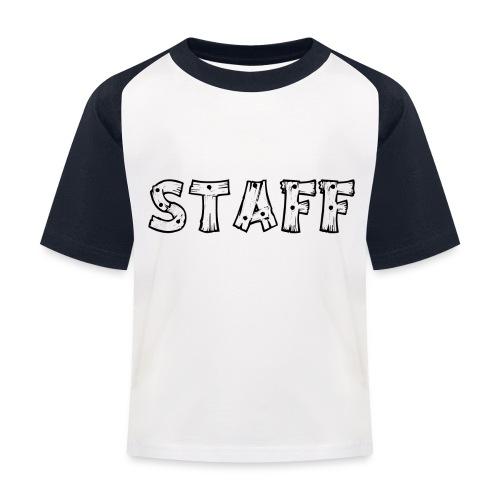 STAFF - Maglietta da baseball per bambini