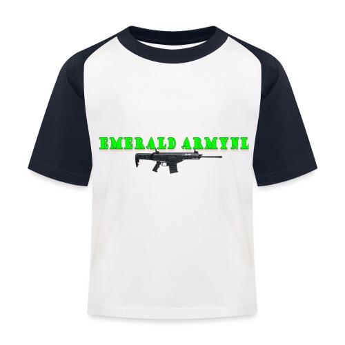 EMERALDARMYNL LETTERS! - Kinderen baseball T-shirt