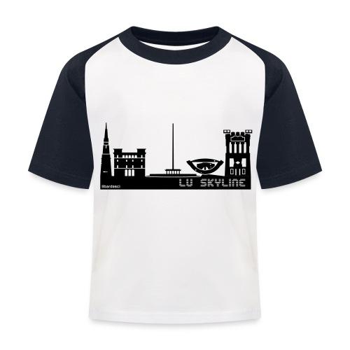 Lu skyline de Terni - Maglietta da baseball per bambini