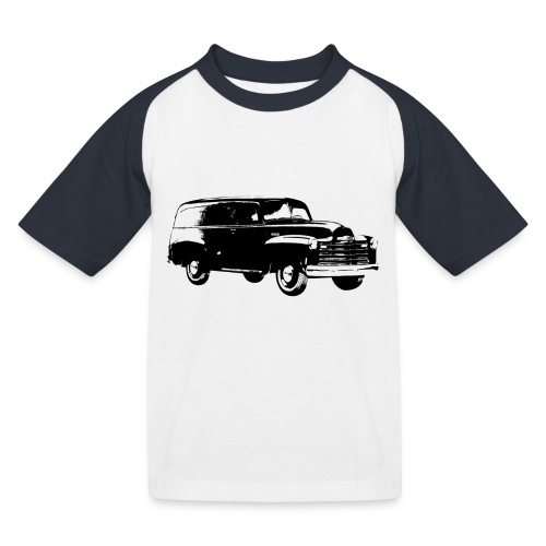 1947 chevy van - Kinder Baseball T-Shirt