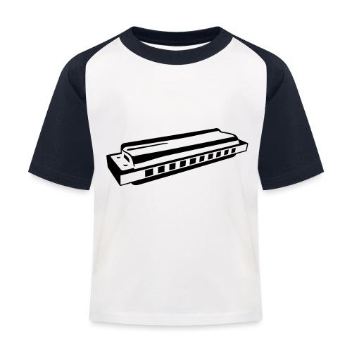 Harmonica - Kids' Baseball T-Shirt