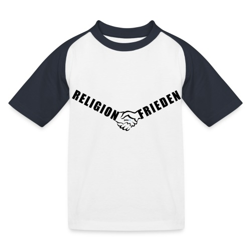 46_Handschlag_01 - Kinder Baseball T-Shirt