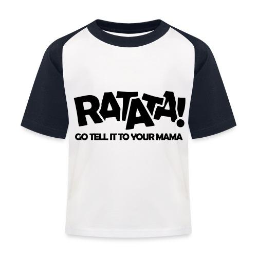 RATATA full - Kinder Baseball T-Shirt