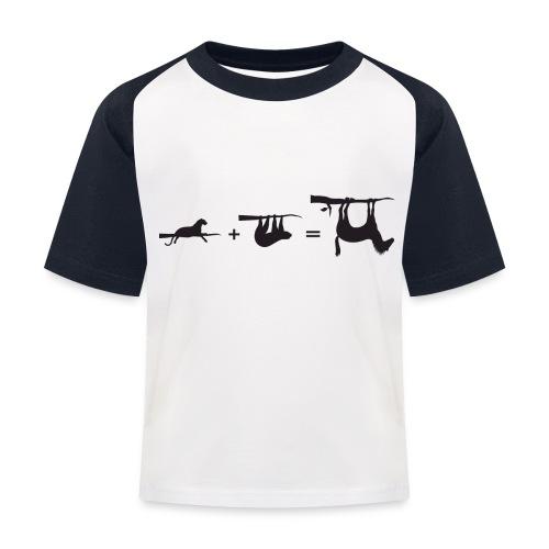 Lui paard Formule Luipaar - Kinderen baseball T-shirt