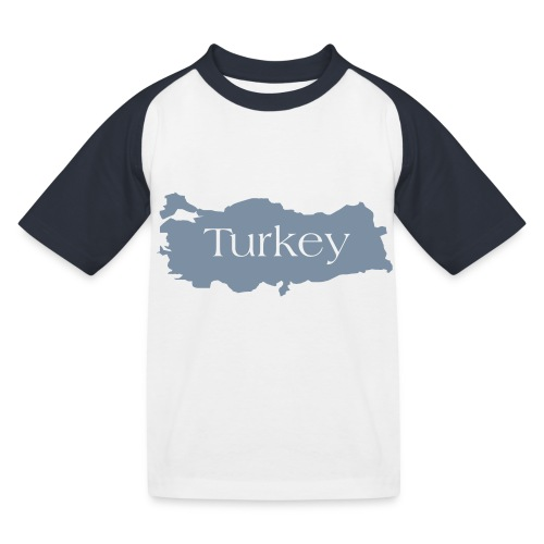 tuerkei - Kinder Baseball T-Shirt