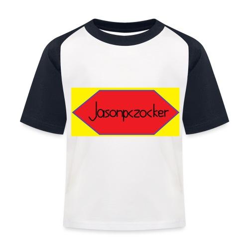 Jasonpczocker Design für gelbe Sachen - Kinder Baseball T-Shirt