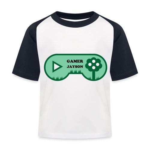 Joueur Jayson - T-shirt baseball Enfant