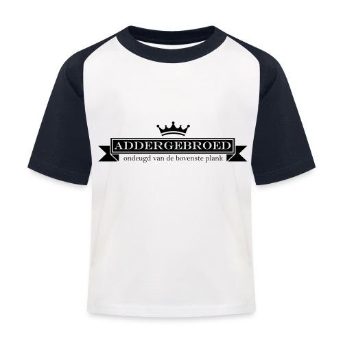 Addergebroed - Kinderen baseball T-shirt