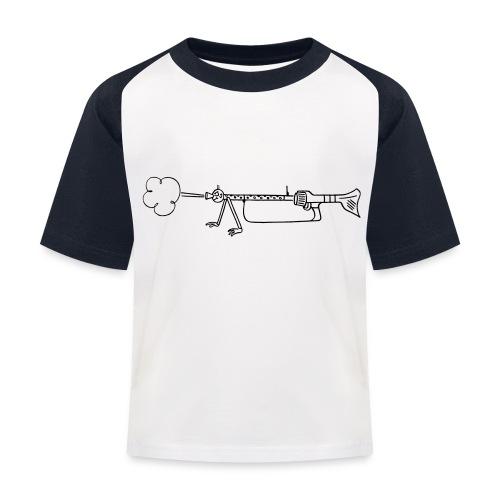 Maschinengewehr 34 - Kinder Baseball T-Shirt