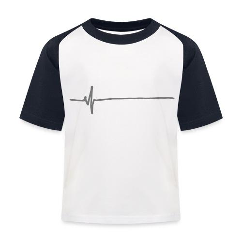 Flatline - Kids' Baseball T-Shirt