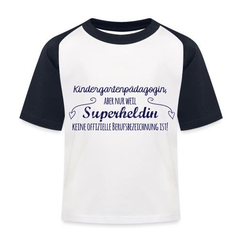 Stoffbeutel: Kindergartenpädagogin - Kinder Baseball T-Shirt