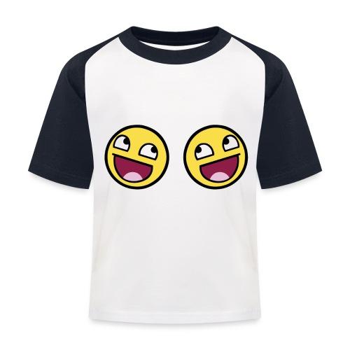 Boxers lolface 300 fixed gif - Kids' Baseball T-Shirt