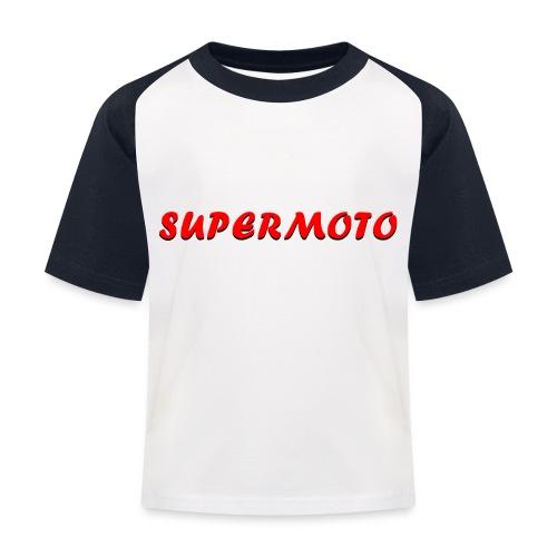 SupermotoLuvan - Baseboll-T-shirt barn