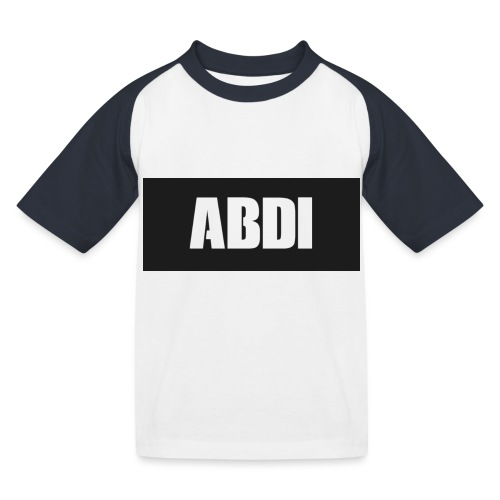 Abdi - Kids' Baseball T-Shirt