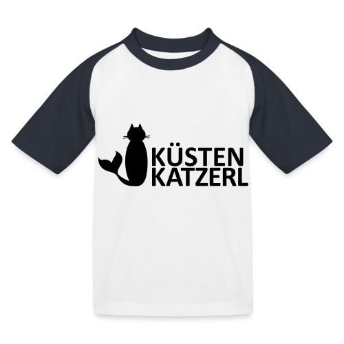 Küstenkatzerl - Kinder Baseball T-Shirt