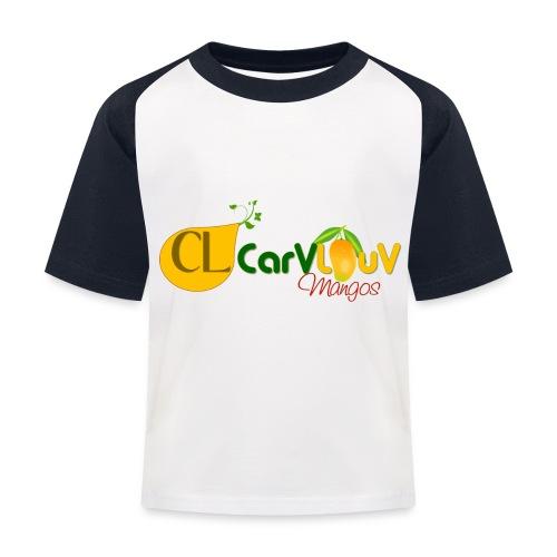 CarVlouV - Camiseta béisbol niño
