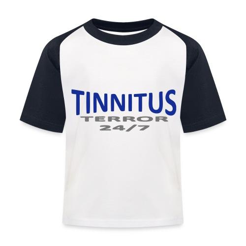 terror - Baseball-T-skjorte for barn