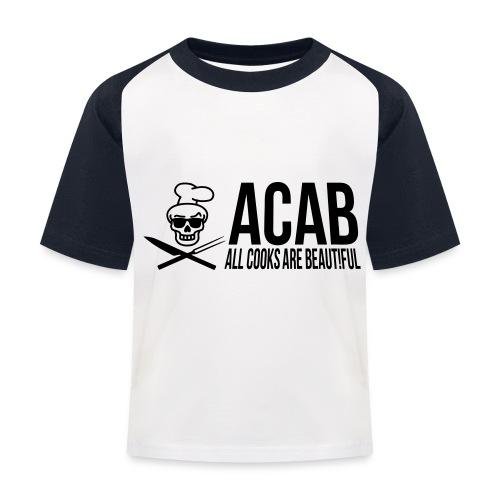 acablang - Kinder Baseball T-Shirt