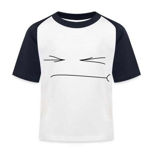 Gepfetzt - Kinder Baseball T-Shirt