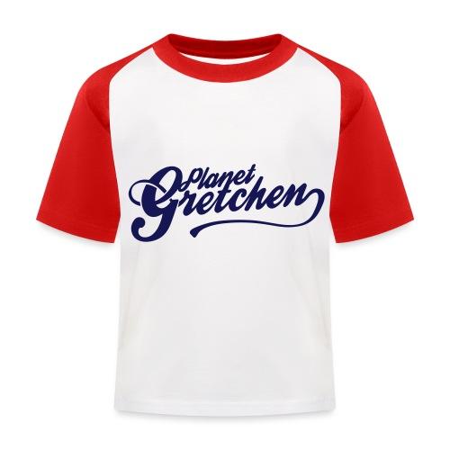 Planet Gretchen svart - Baseboll-T-shirt barn