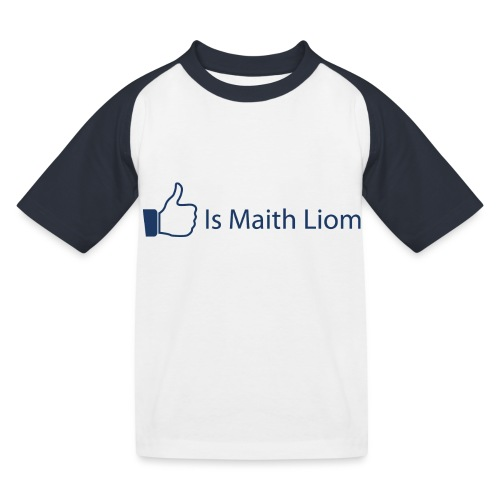 like nobg - Kids' Baseball T-Shirt