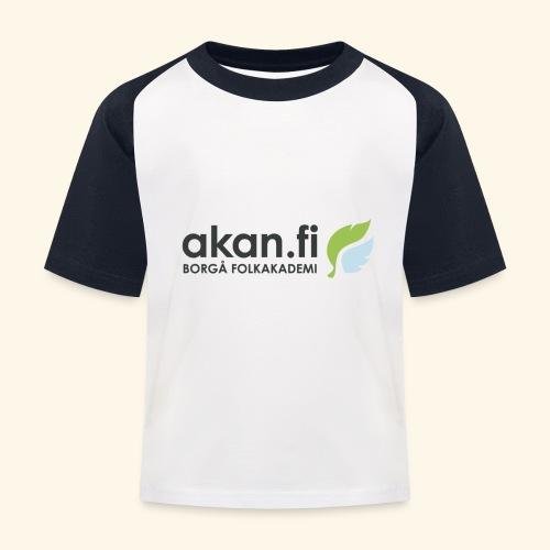 Akan Black - Baseboll-T-shirt barn