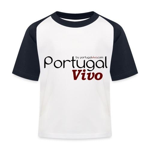 Portugal Vivo - T-shirt baseball Enfant