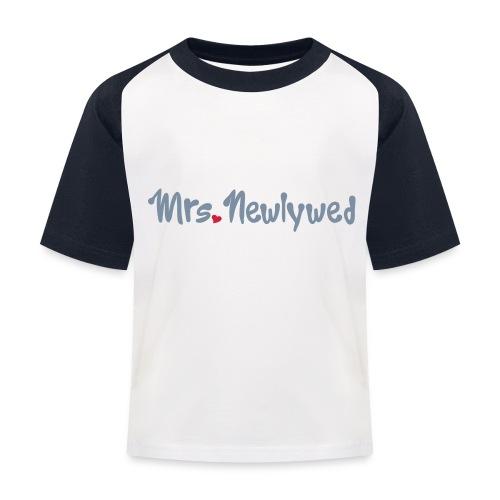 Mrs Newlywed - Kids' Baseball T-Shirt