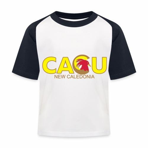 Cagu New Caldeonia - T-shirt baseball Enfant