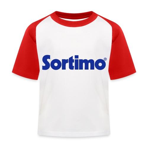 Sortimo - Baseboll-T-shirt barn