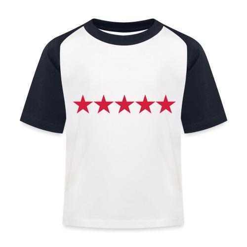 Rating stars - Lasten pesäpallo  -t-paita
