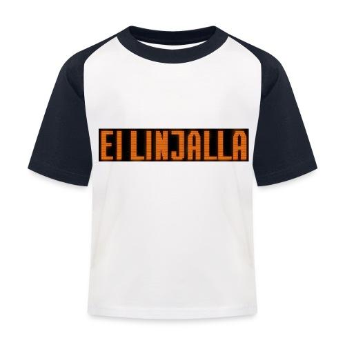EI LINJALLA - Lasten pesäpallo  -t-paita
