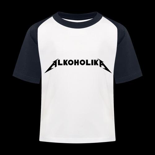 Alkoholika Official - Kinder Baseball T-Shirt