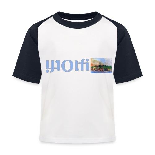 WOLFI5 - Kinder Baseball T-Shirt