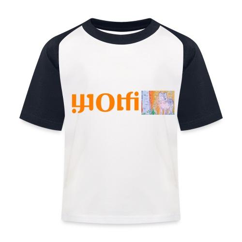 WOLFI6 - Kinder Baseball T-Shirt