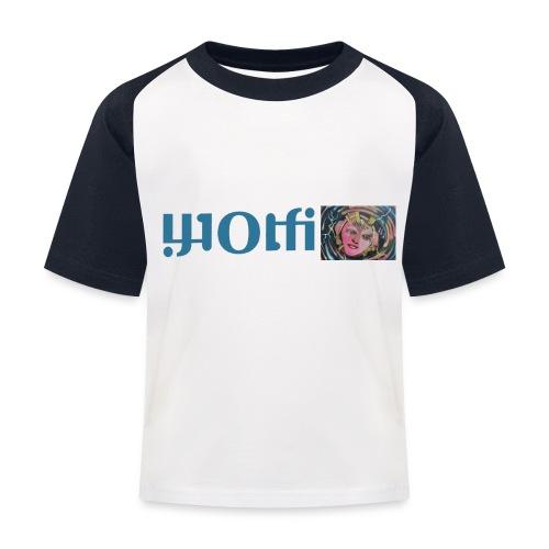 WOLFI8 - Kinder Baseball T-Shirt