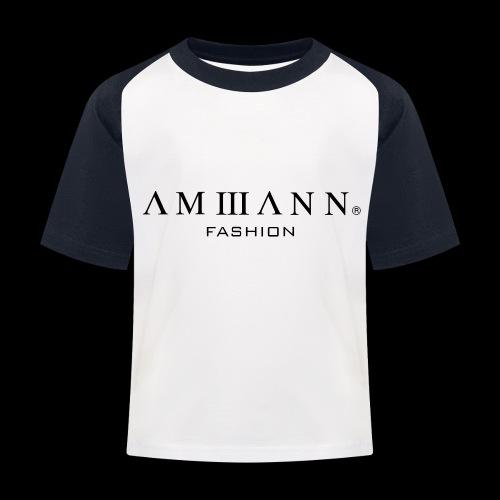 AMMANN Fashion - Kinder Baseball T-Shirt