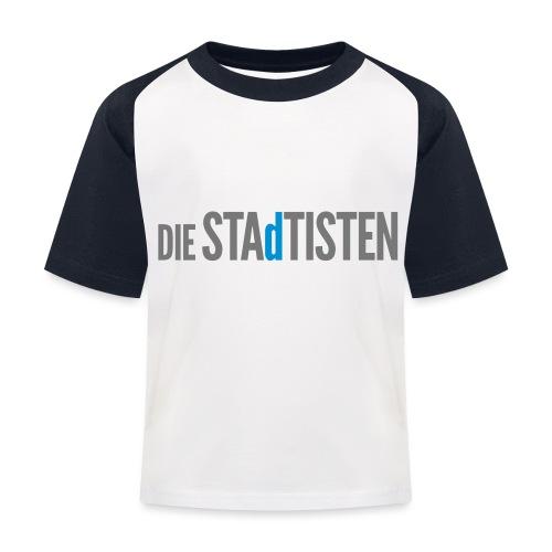 DIE STAdTISTEN - Kinder Baseball T-Shirt